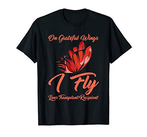 Transplant Survivor T Shirt Liver Recipient Recovery Gift T-Shirt