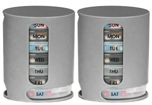 Pill Pro – 2 Pack, Weekly Pill Organizer