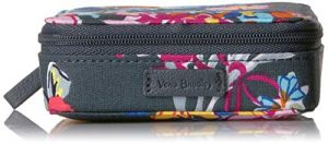 Vera Bradley Signature Cotton Travel Pill Organizer, Pretty Posies